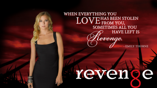 Revenge wallpaper possibly containing a dinner dress, a cocktail dress, and a bustier called Revenge Quotes