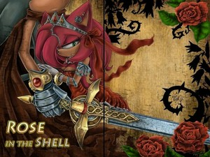Rose In The Shell