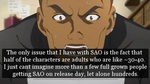 SAO Confessions