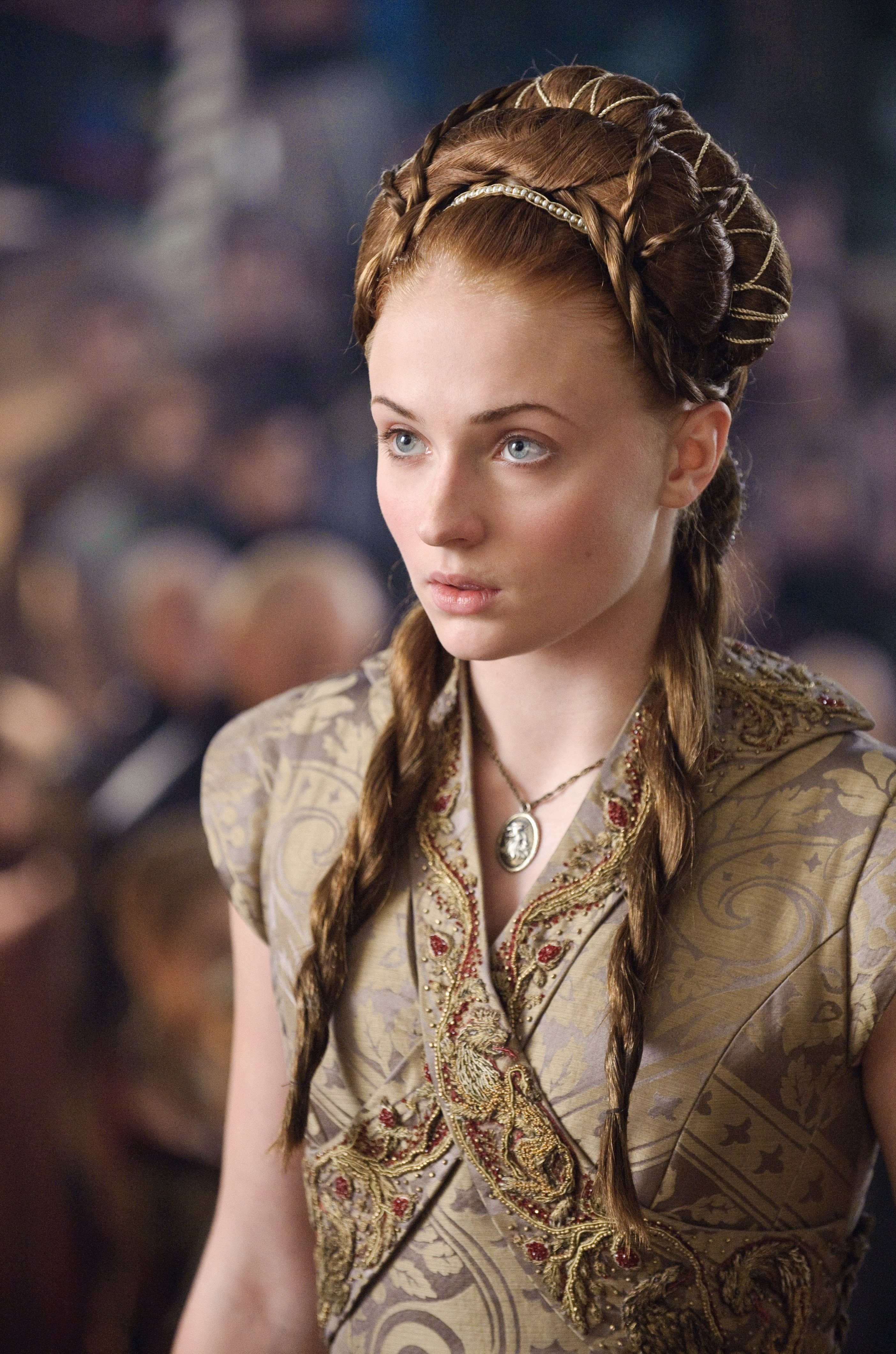 Sophie Turners Glorious Lush Hair Is So SANSA STARK