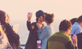 Santa Monica - ian-somerhalder-and-nina-dobrev photo
