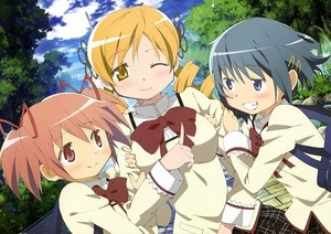 Sayaka, Madoka, & Mami