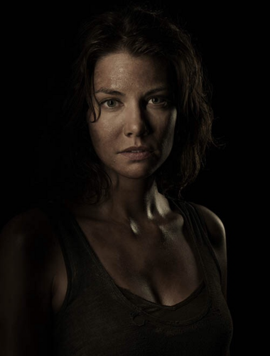 Os Mortos-Vivos wallpaper probably containing a portrait titled Season 4 Cast Portrait - Maggie