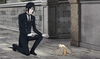 Sebastian Michaelis photo with a business suit, a street, and a well dressed person entitled Sebastian...