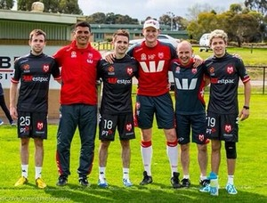 September 18th - Niall Playing Football in Melbourne, Australia