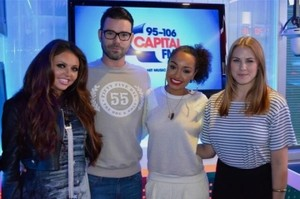 September 23rd - Jesy and Leigh-Anne At Capital FM