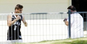 September 24th - Liam Working Out