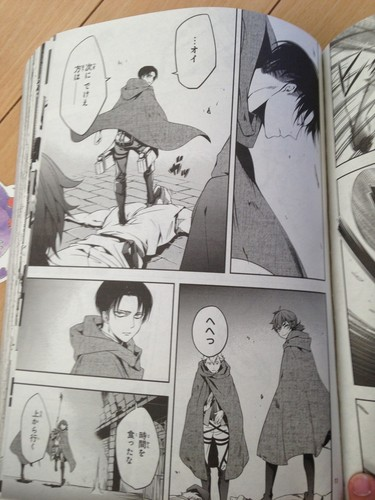 Attack on Titan karatasi la kupamba ukuta containing anime called Shingeki no Kyojin SPINOFF - Birth of Levi