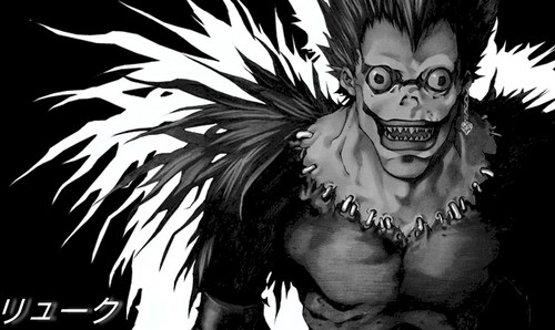DEATH NOTE デスノート 壁紙 titled Shinigami Ryuk
