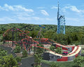 Six Flags St. Louis Tony Hawk's Big Spin  - rollercoasters photo