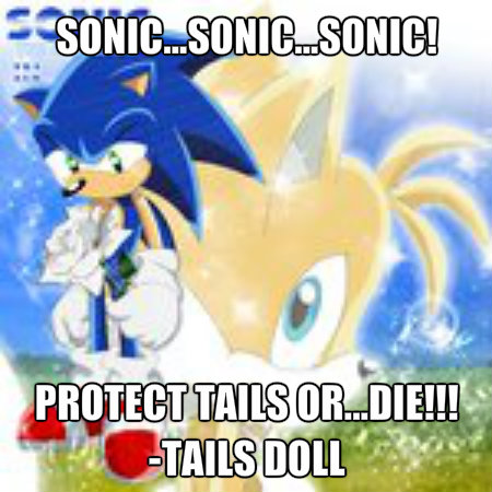 "Miles ""Tails"" Prower 壁紙 called Sonic needs to protect tails"