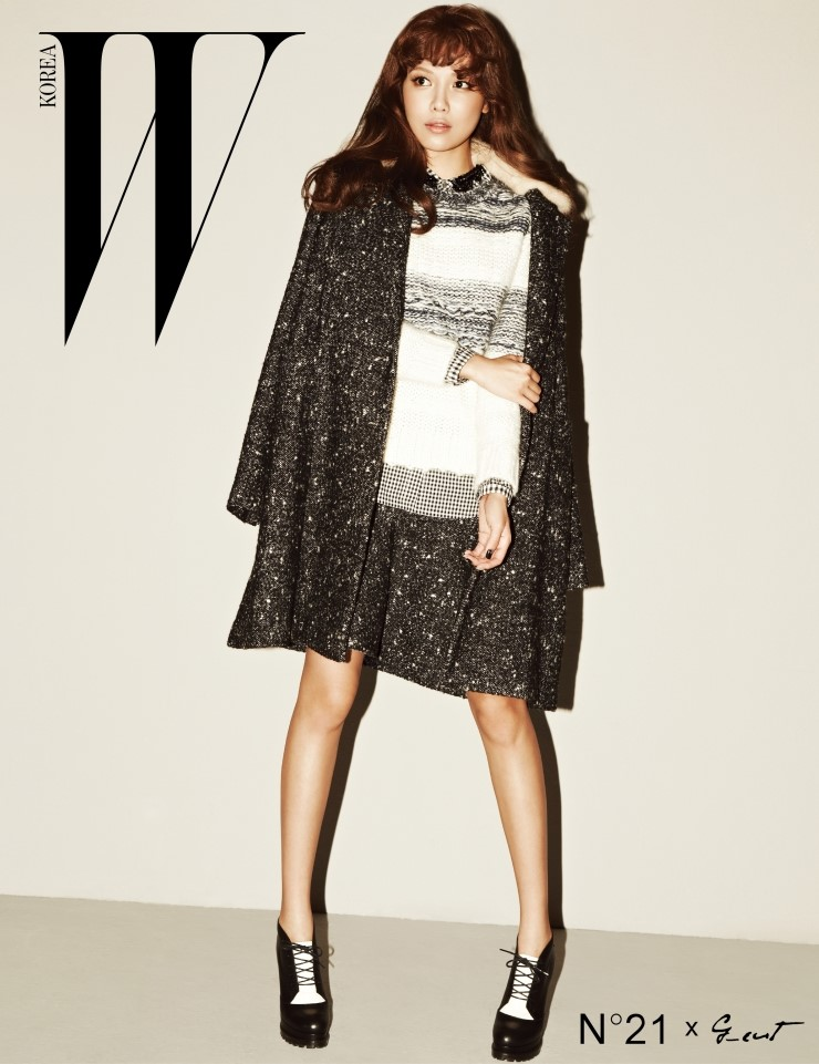 Sooyoung- W Korea October Issue