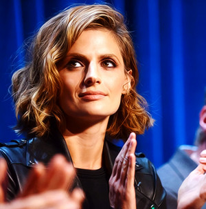 Stana at Paleyfest-September,2013