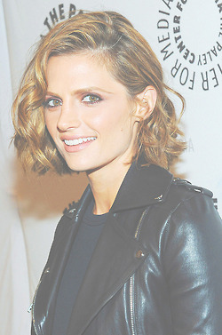 Stana at Paleyfest-September,2013 - nathan-fillion-and-stana-katic Photo