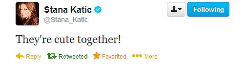 Stana's twitt about Caskett-September,2013