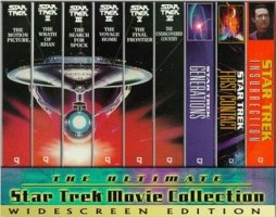 estrella Trek VHS Widescreen Collection