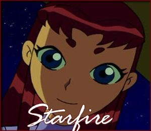 Starfire 바탕화면 possibly containing 아니메 called Starfire