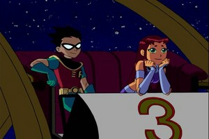 Starfire and Robin