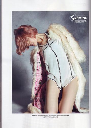 Sunmi - Harper's Bazaar October Issue '13