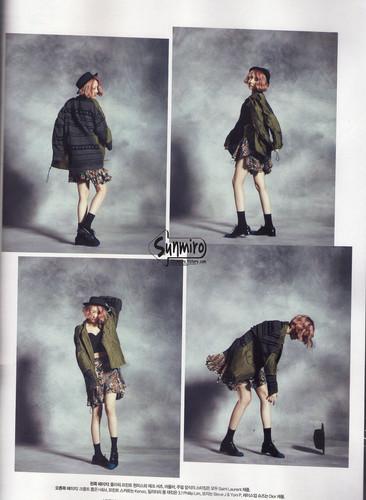 Sunmi Обои titled Sunmi - Harper's Bazaar October Issue '13