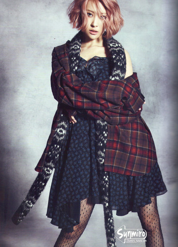 Sunmi Обои titled Sunmi - Harper's Bazaar October Issue '13