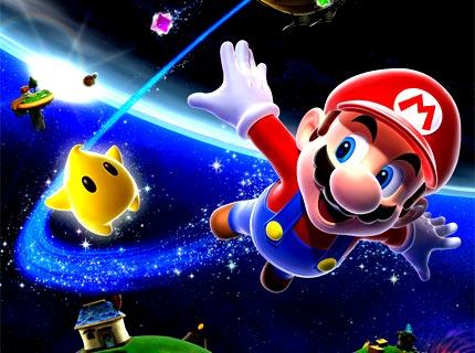 Video Games achtergrond called Super Mario Galaxy