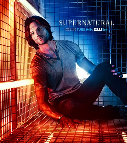 Jared padalecki misha collins images supernatural season 9 hd jared padalecki misha collins wallpaper with a holding cell called supernatural season 9 voltagebd Gallery