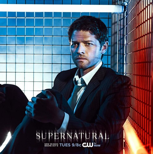 Jared padalecki misha collins images supernatural season 9 hd jared padalecki misha collins wallpaper with a business suit and a chainlink fence titled supernatural supernatural season 9 voltagebd Gallery