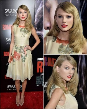 Tay at Romeo And Juliet premiere