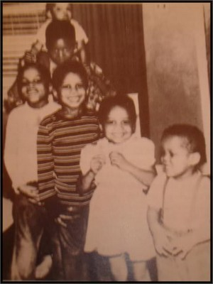 The Jackson Family As Children
