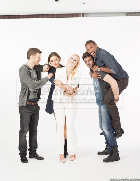 The Originals cast - EW Comic con Photoshoot 2013