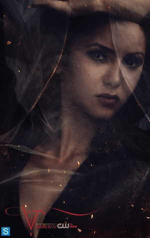 The Vampire Diaries - Season 5 - New Poster - Katherine