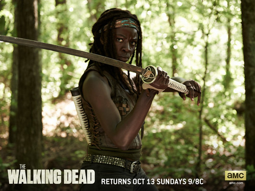 the walking dead wallpaper called Michonne