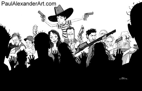 The Walking Dead wallpaper possibly with a bandsman called The Walking Dead