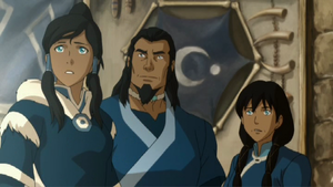The legend of Korra book 2 civil wars part 1 picture
