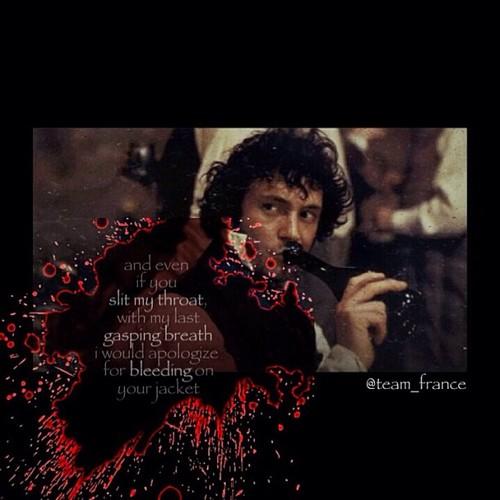 Les Miserables wolpeyper titled This kills me:'(