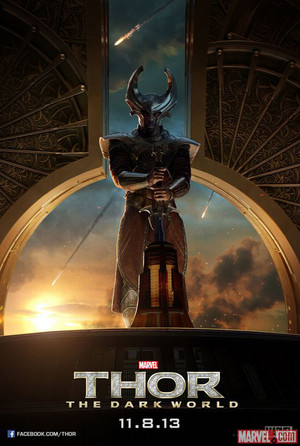 Thor: The Dark World Poster - Heimdall