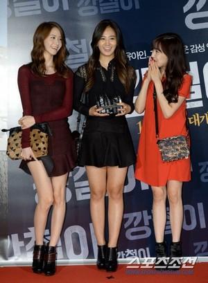 Tiffany,Yuri,YoonA @Tough as Iron' VIP Premiere