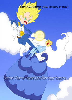 Trying To Kidnap The Prince of All Saiyans