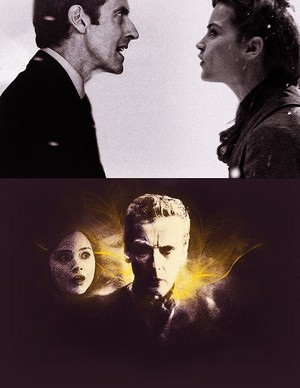 Twelfth Doctor and Clara :D