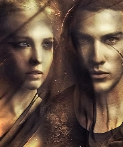 Tyler and Caroline wallpaper probably with a portrait called Tyler & Caroline / TVD Season 5