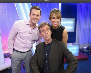 HUGH LAURIE - THE ONE SHOW SEPT 23, 2013