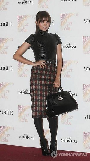 Uee at VOGUE Fashion Nightout Event