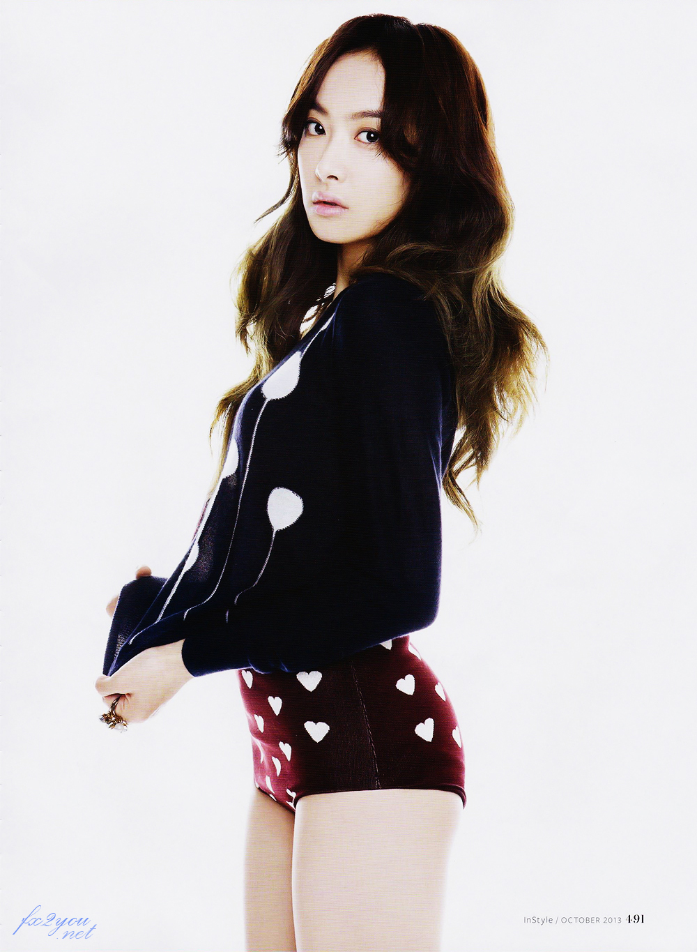 f(x) 에프엑스 images Victoria InStyle Scan HD wallpaper and ... F(x) Amber Pink Tape