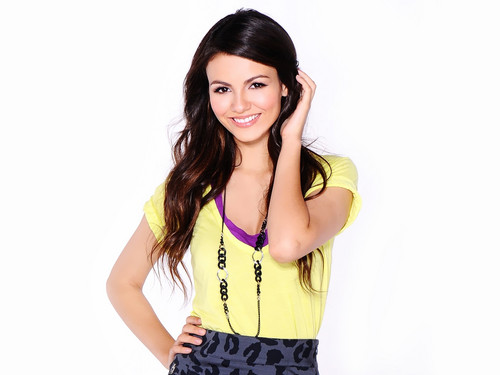 Victoria Justice wallpaper probably with a halter, a cocktail dress, and a chemise called Victoria Justice