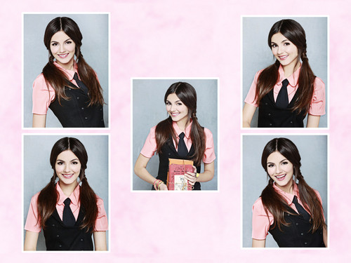 Victoria Justice wallpaper containing a portrait titled Victoria Justice