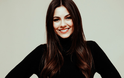 Victoria Justice wallpaper possibly with a well dressed person and a portrait titled Victoria Justice