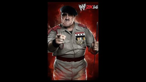 WWE wallpaper titled WWE 2K14 - Sgt.Slaughter