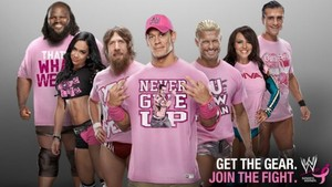 WWE teams with Komen