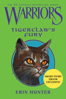 Warriors (Novel Series) वॉलपेपर containing ऐनीमे entitled Warriors EBook: Tigerclaw's Fury cover